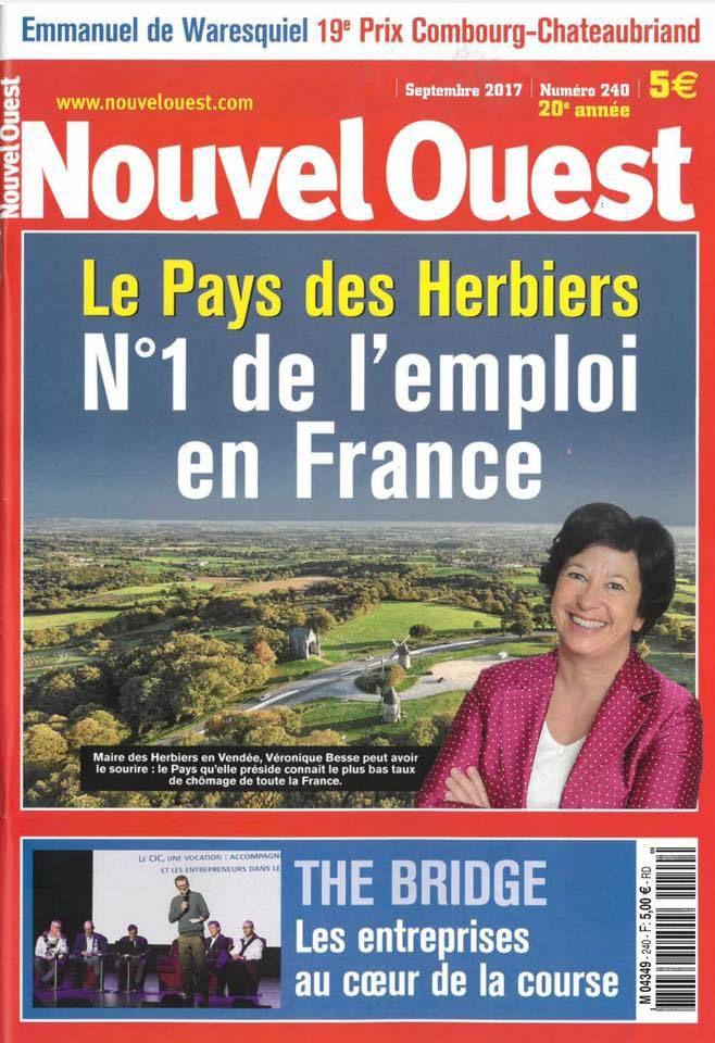 le Pays des Herbiers (Vendée) présidé par Véronique Besse (MPF) : numéro 1 de l'emploi en France