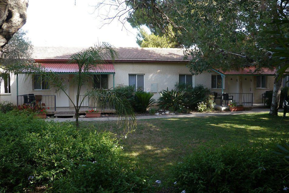 Habitation du Kibboutz.
