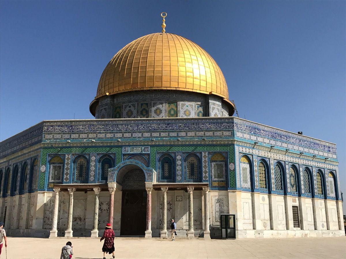 La Mosquée d'Omar, sur le Mont du Temple. (Crédit photos: Tous droits réservés).