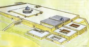 Esplanade des mosquées sur le Mont du Temple. (Image danilette.com)