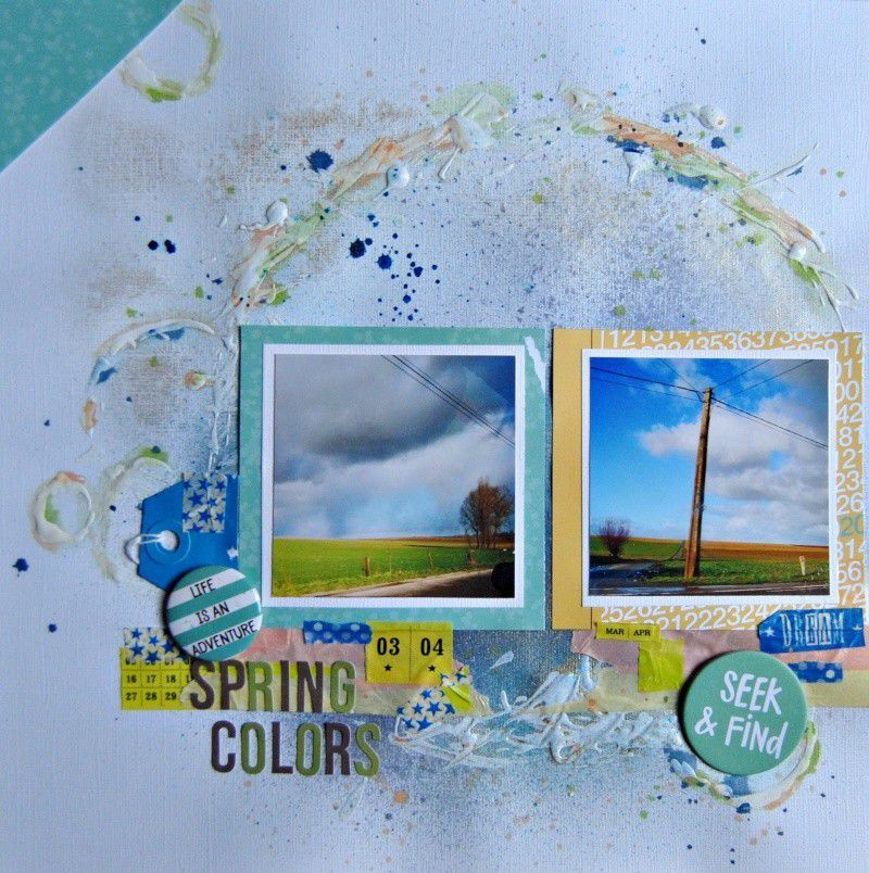 Spring Colors / Les Couleurs Du Printemps