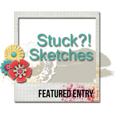 Featured Entry @ Stuck?! Sketches: Spring Colors
