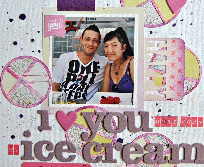 I Love You More Than My Ice Cream/Je T'Aime Plus que Ma Crème A La Glace