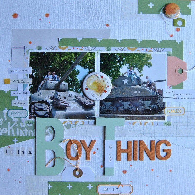 It is a boy thing / C'est un chose de garçon
