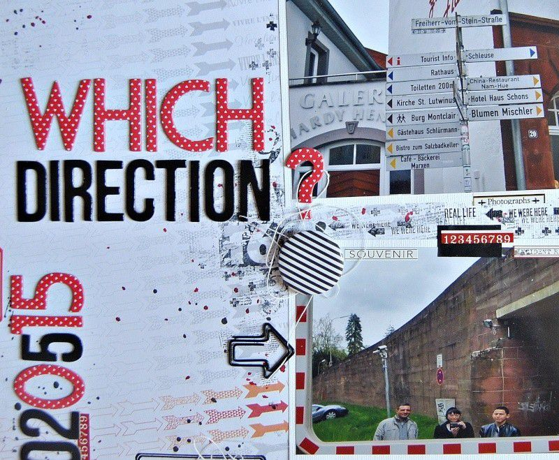 Which Direction?/Quelle Direction?
