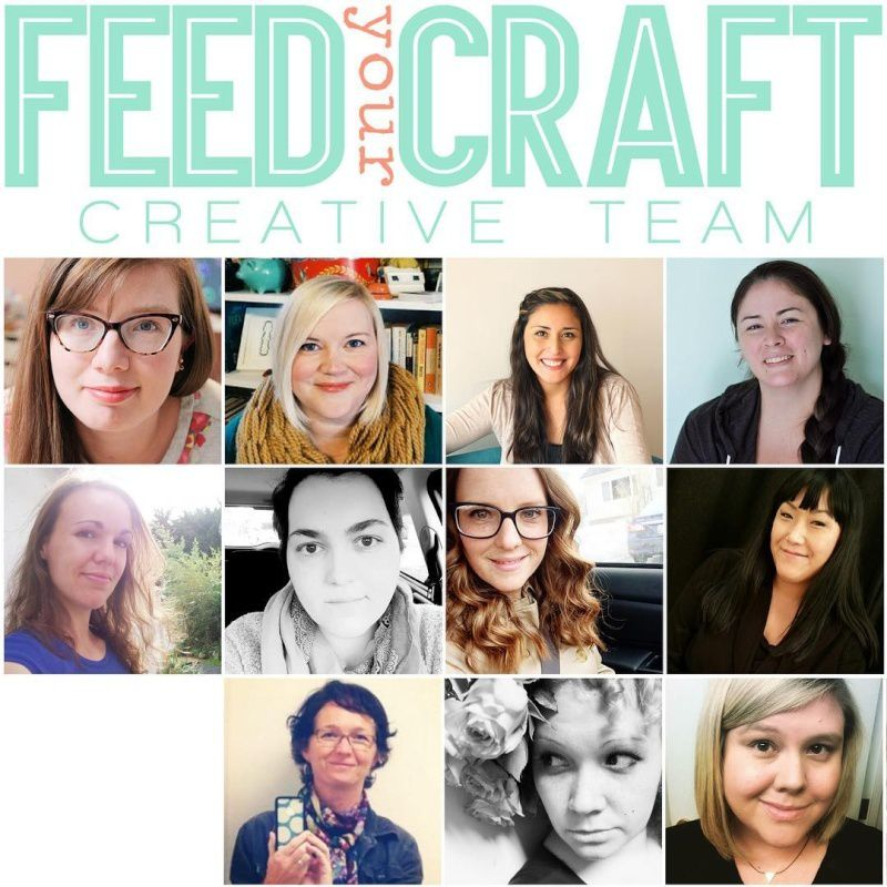 I am joining the Feed Your Craft Creative Team!!!!/Je rejoins l'Equipe Créative de Feed Your Craft!!!!