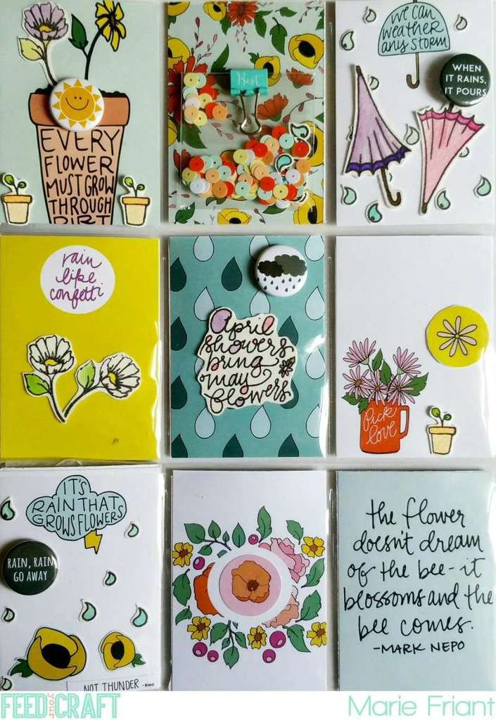 April Showers Bring May Flowers Pocket Letter
