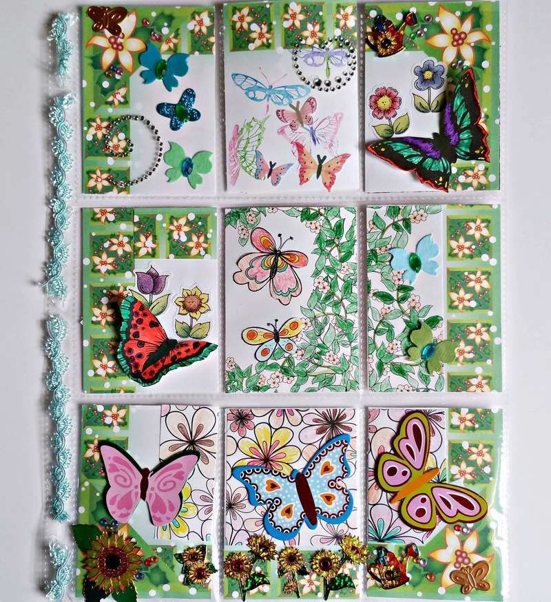 Butterflies Come With May Flowers Pocket Letter