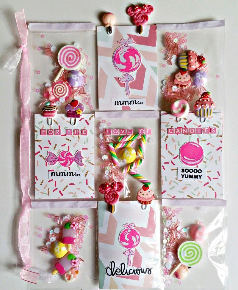 Love Candies Pocket Letter