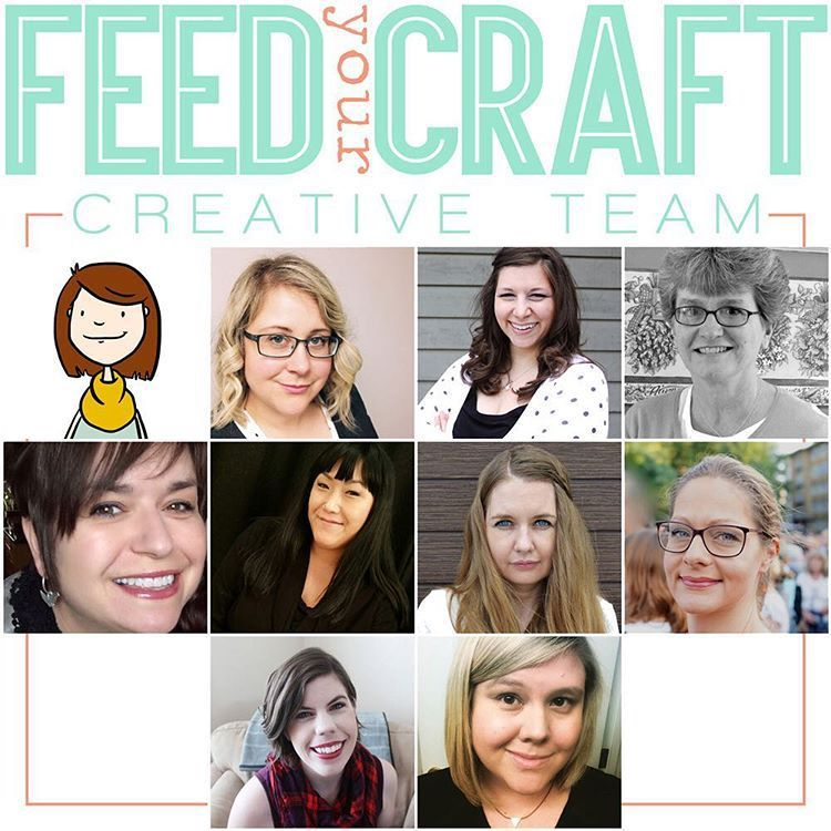 I am staying in the Feed Your Craft Creative Team!!!!!/Je reste dans l'Equipe Créative de Feed Your Craft!!!!