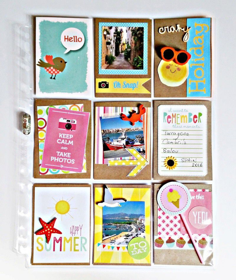 Happy Vacation Pocket Letter