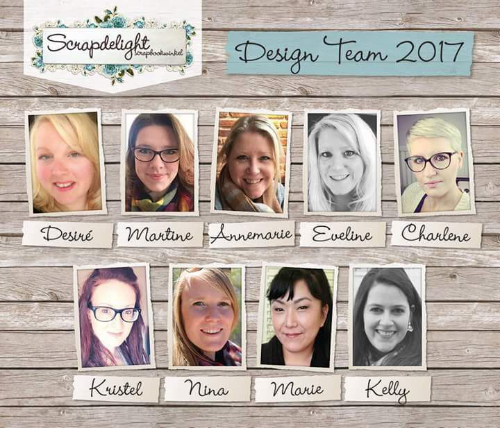 I am joining the Scrapdelight Design Team/Je rejoins la Design Team de Scrapdelight