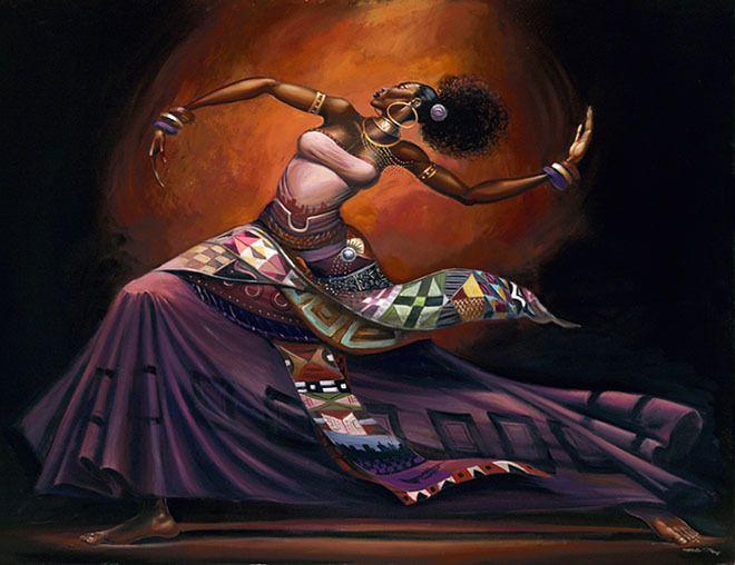 Popolare Poesie africane di Léopold Sédar Sengor - Dipinti di Frank  AG87