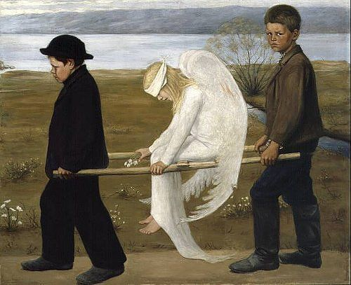 Hugo Simberg - The Wounded Angel,1903