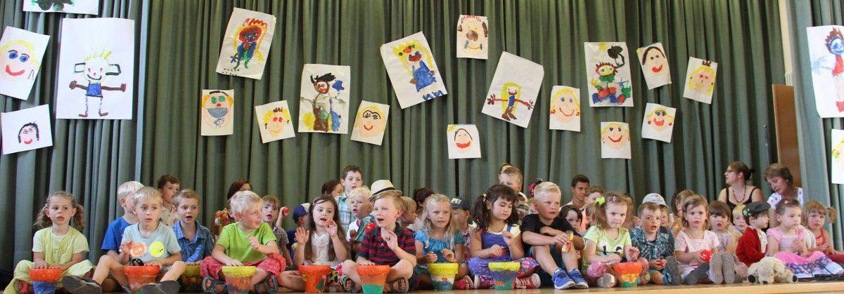 Sommerfest des Kuratie-Kindergartens mit allen Sinnen