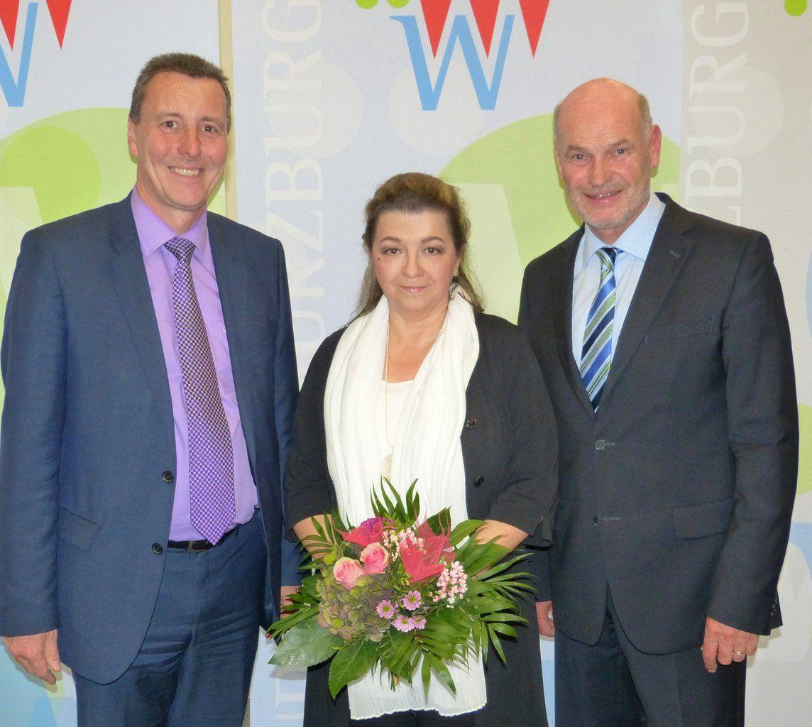 Veitshöchheimerin Ingrid Schinagl erhielt Kommunale Dankurkunde