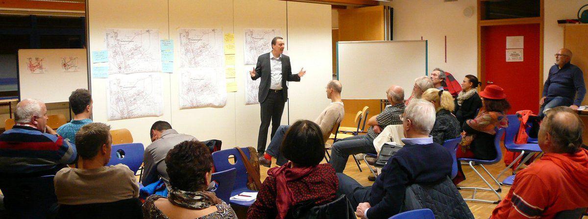 Produktiver Bürgerworkshop zur Entwicklung eines Radroutenkonzepts für die Gemeinde Veitshöchheim