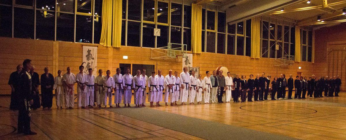 10 Jahre Kikentai Dojo Veitshöchheim - Beeindruckende Tai Chi-, Karate- und Kobudo-Jubiläums-Show in der Dreifachturnhalle