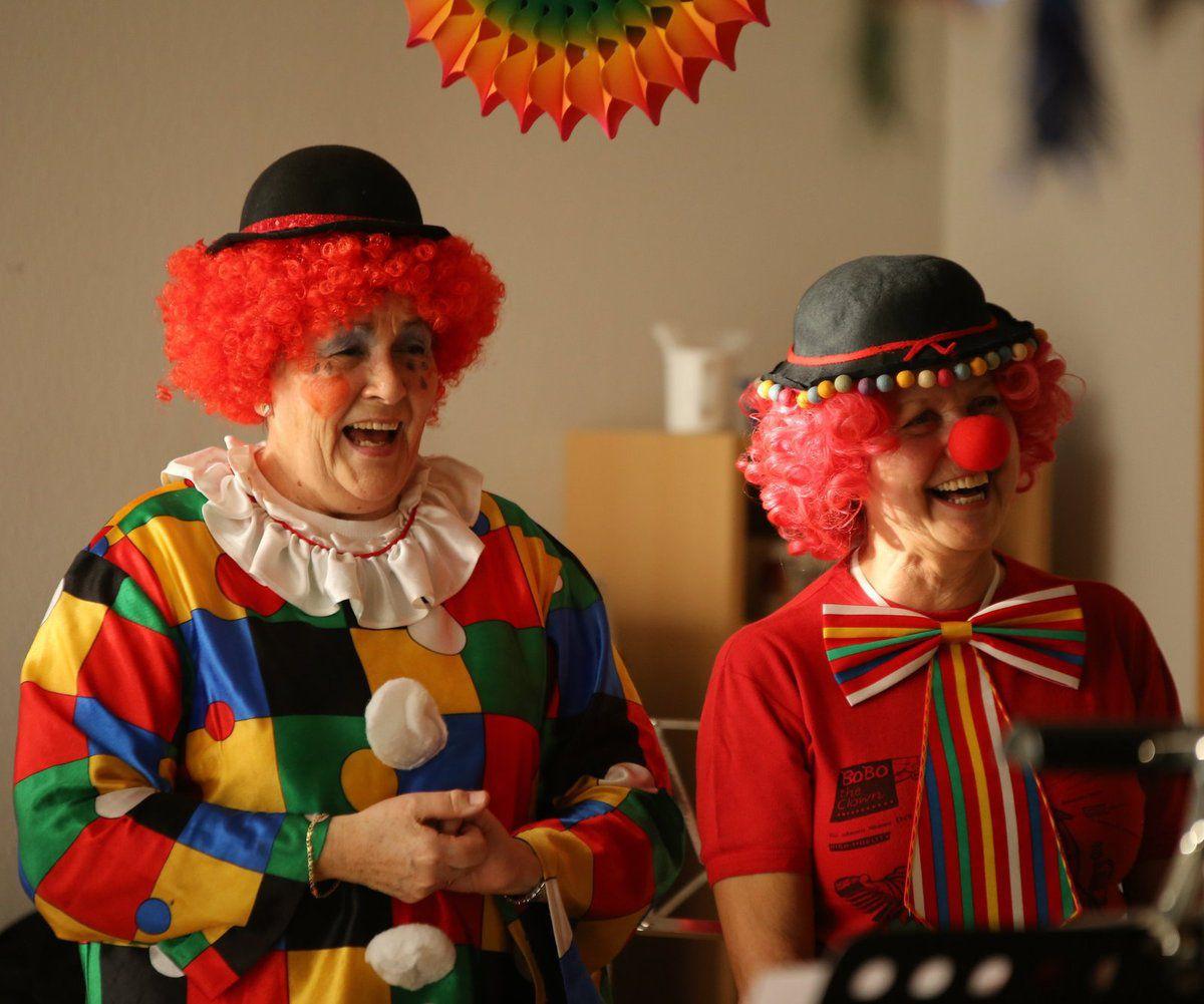 Veitshöchheimer Frauenbund erfreute Senioren bei Faschingsfeier im Caritas-Altenheim Sankt Hedwig