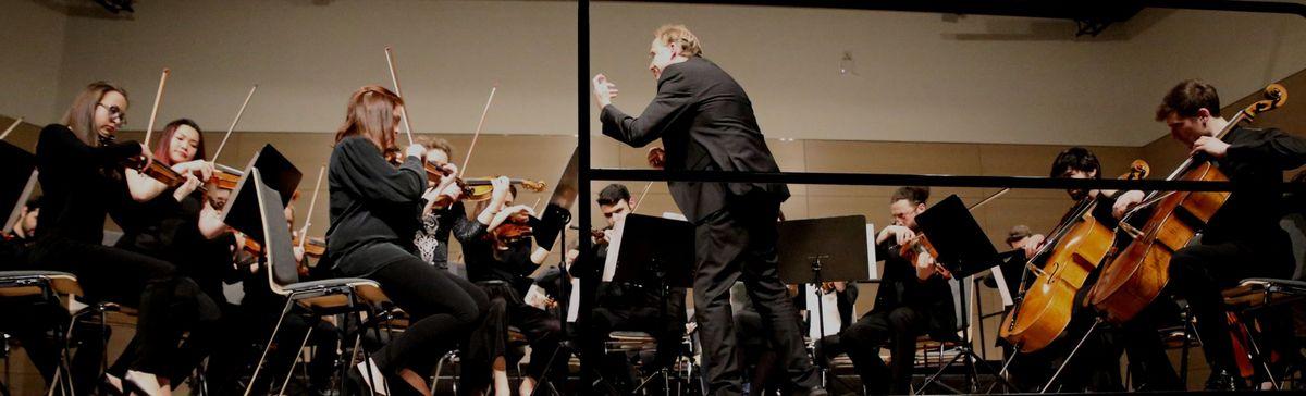 """Felix Mendelssohn- Bartholdys einsätzige Sinfonie op.10 h- Moll, gespielt von den jungen Musikern, war ein weiterer musikalischer Höchstgenuss vor dem fulminanten Abschluss des  """"Orchestra Giovanile di Greve in Chianti"""" mit """"Libertango"""" von Astor Piazzolla. An Leidenschaft nicht zu übertreffen war Dirigent David Hummel, der förmlich seine Energie in das Orchester trug. Die rhythmischen Passagen wechselten mit zarten, aber auch intensiven Klängen, so dass das Publikum kaum auf den Stühlen sitzen konnte."""