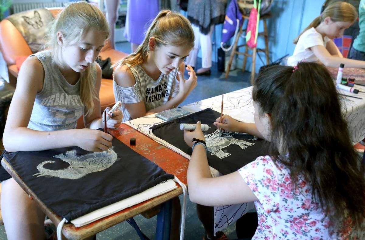 Kolpingsfamilie Veitshöchheim bot 13 Kindern ein kreatives und nutzbringendes Ferienangebot