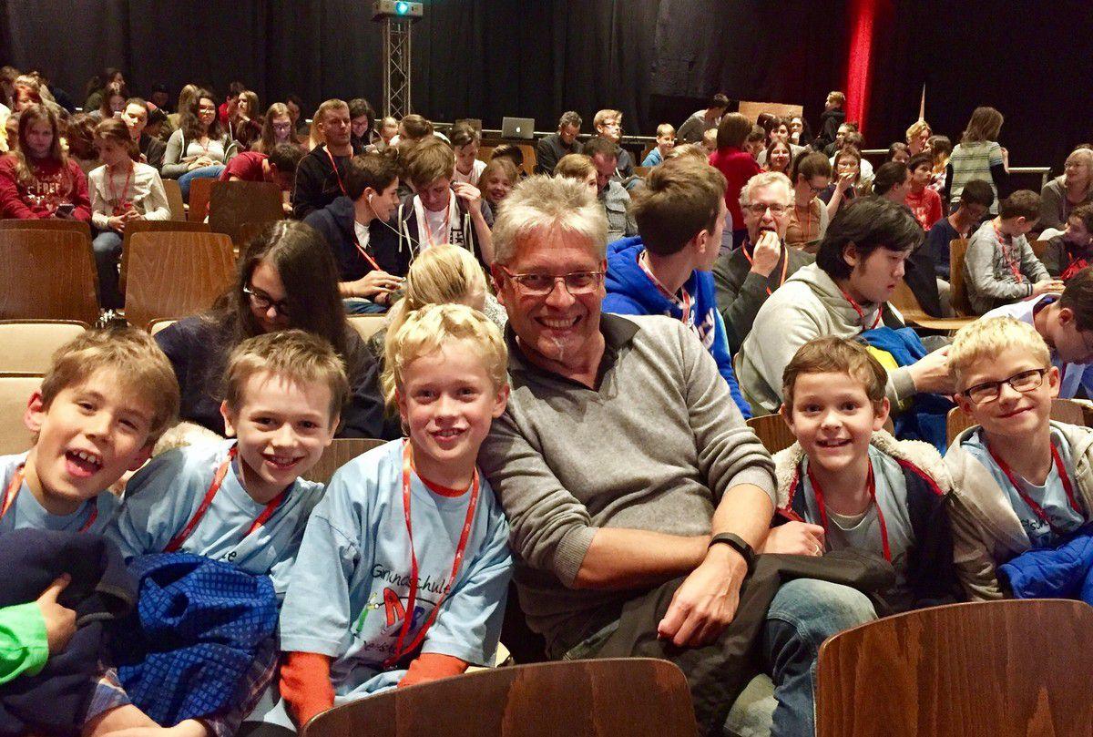 Klasse 4c der Veitshöchheimer Grundschule gewann Förderpreis auf dem Filmfest in Gerbrunn