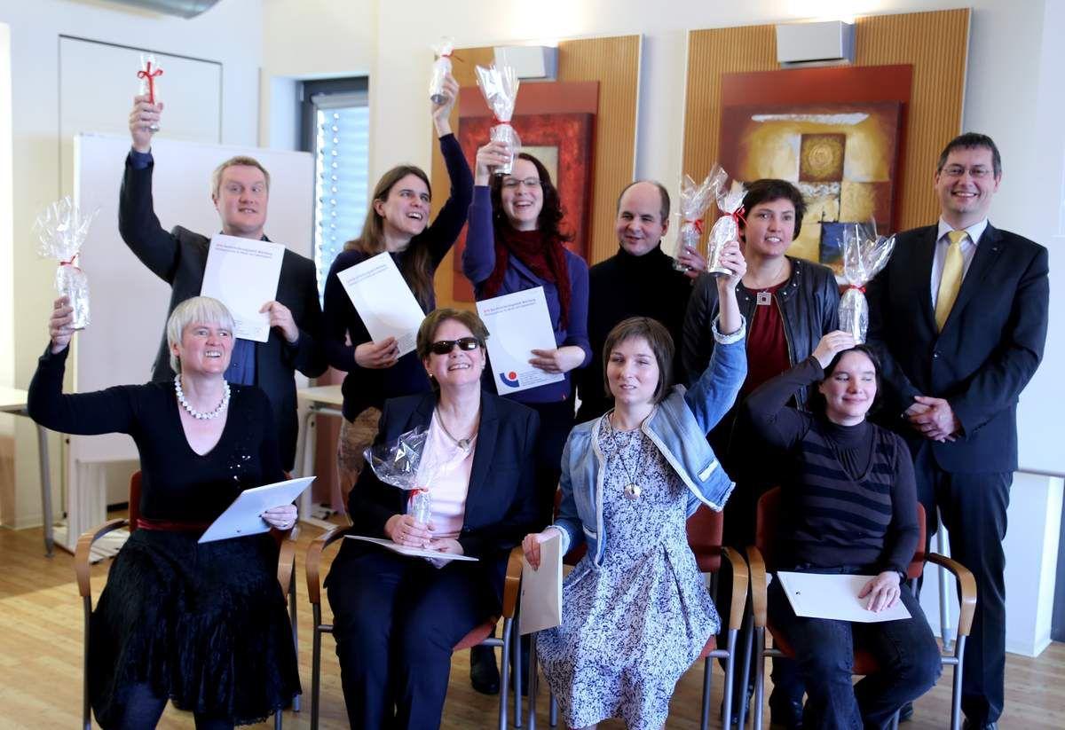Im Februar 2016 erhielten am BFW die ersten Schriftdolmetscher ihr Diplom