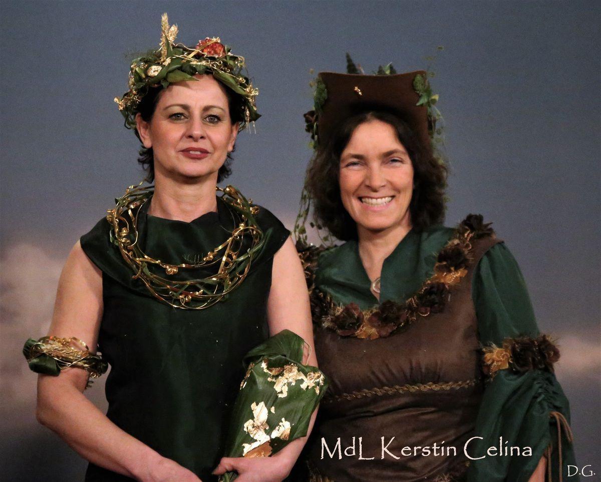 Fesches Grün und voll auf dem Bio-Trend: MdL Kerstin Celina