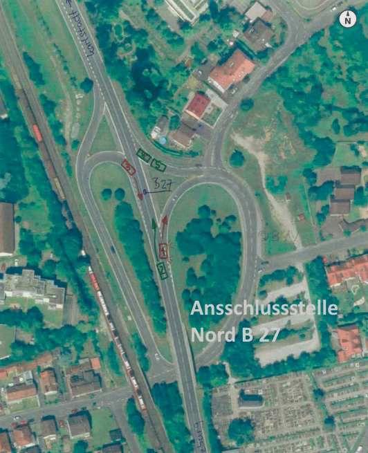 Nach über 35 Jahren vergeblichen Bemühens: Endlich Tempolimit 70 km/h an den Ein- und Ausfahrten der B 27 in Veitshöchheim