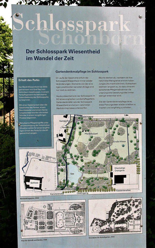 Schlosspark Wiesentheid - Fotos: D.G.