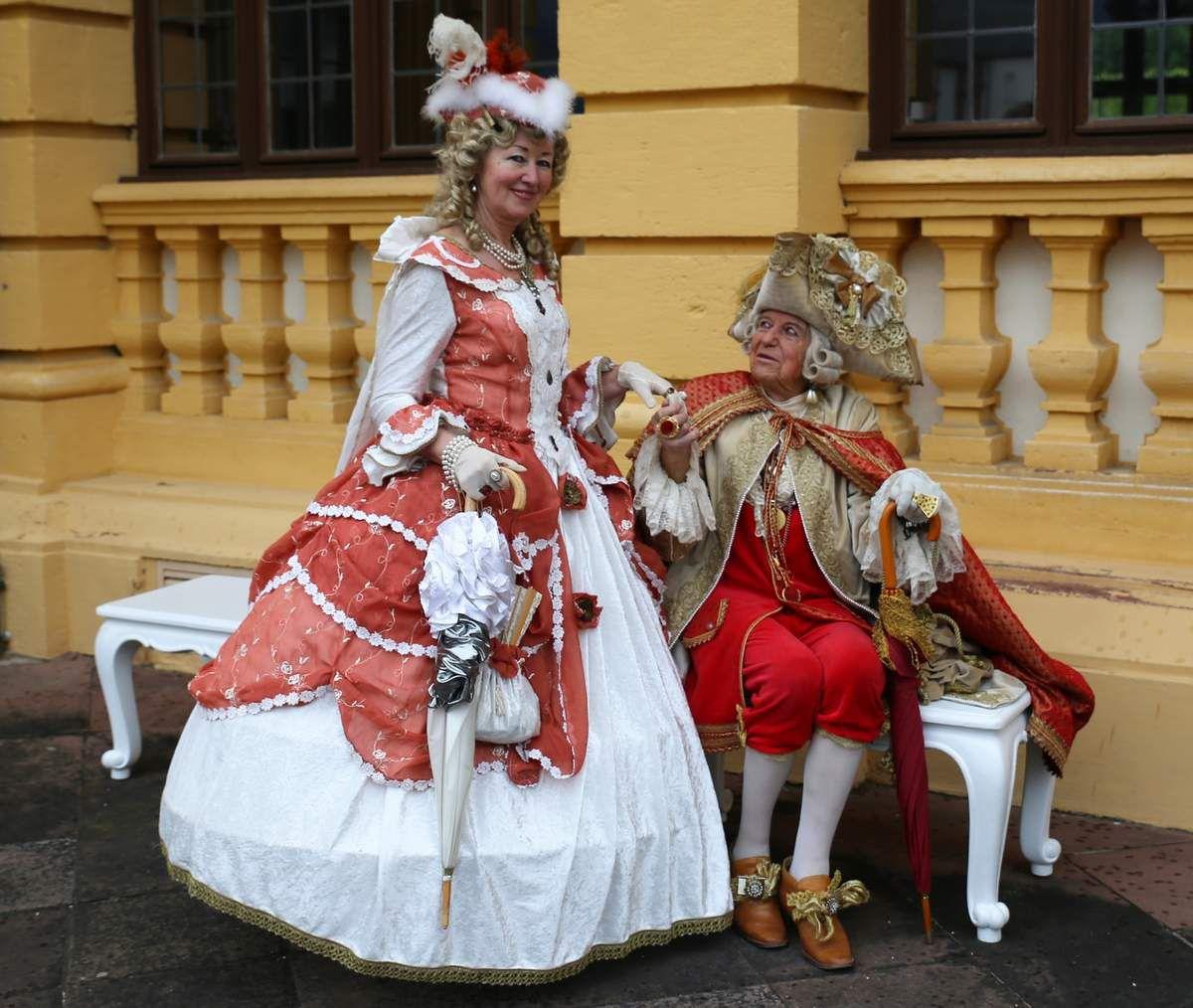 Herzog Johann Ernst aus dem Herzogtum Sachsen-Saalfeld in Thüringen gab sich am Samstagmittag  mit seiner Gattin die Ehre im Veitshöchheimer Hofgarten.