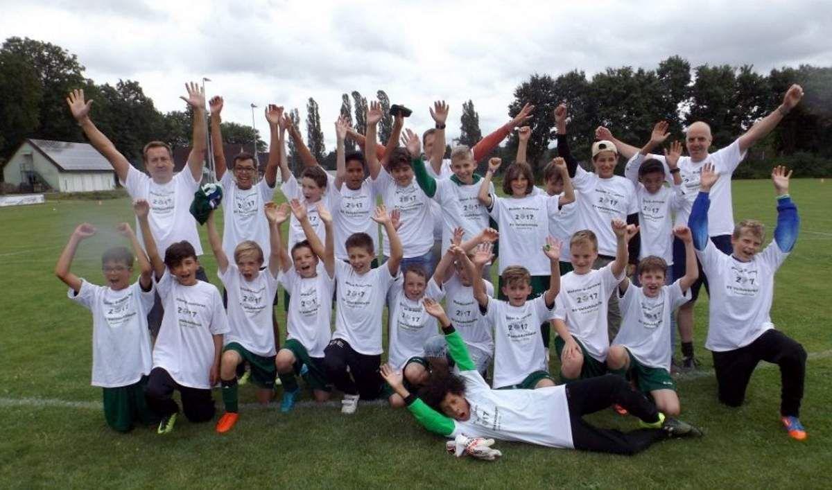 Gratulation an die  U 13 (II)-Fußballer des SV Veitshöchheim zur Meisterschaft