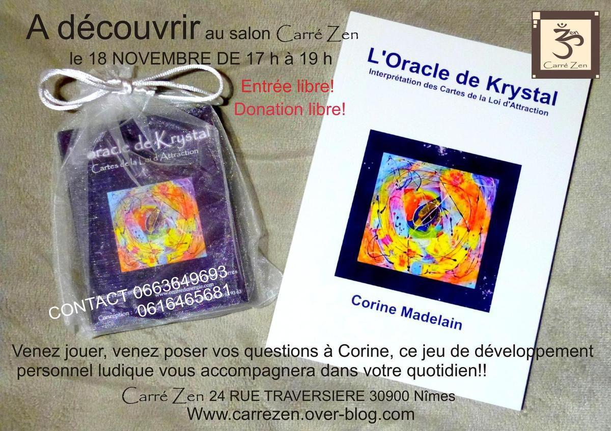 Atelier de présentation Oracle de Krystal