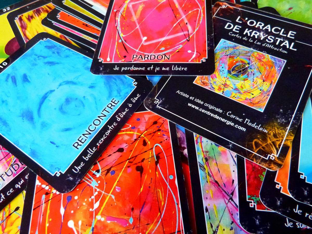 cartes vibratoires de la loi d'attraction