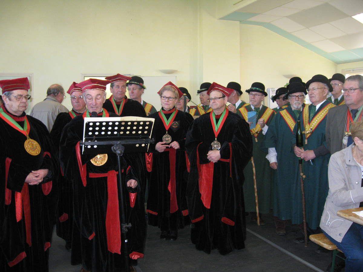 Salon des vignerons de Lhomme en 2014 : les confréries