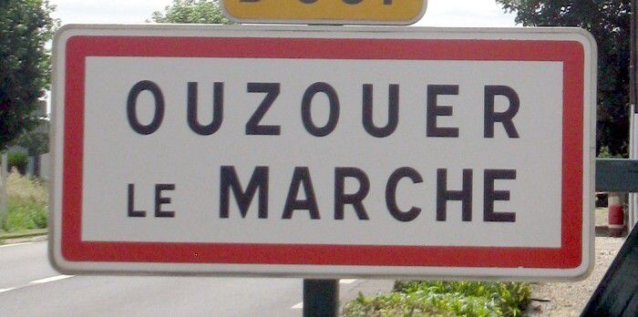 la commune nouvelle de Beauce-la-Romaine regroupe sept communes dont Ouzouer-le-Marché