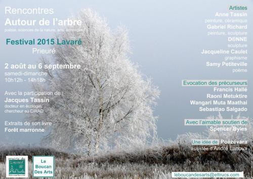 Le Festival de Lavaré dans la Sarthe a lieu du 2 août au 6 septembre