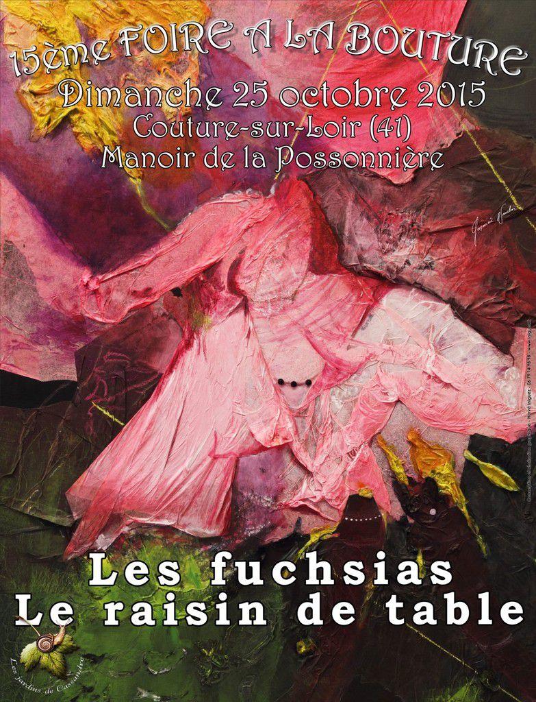 La Foire à la Bouture se déroule chaque année au manoir de la Possonnière, maison natale du poète Pierre de Ronsard