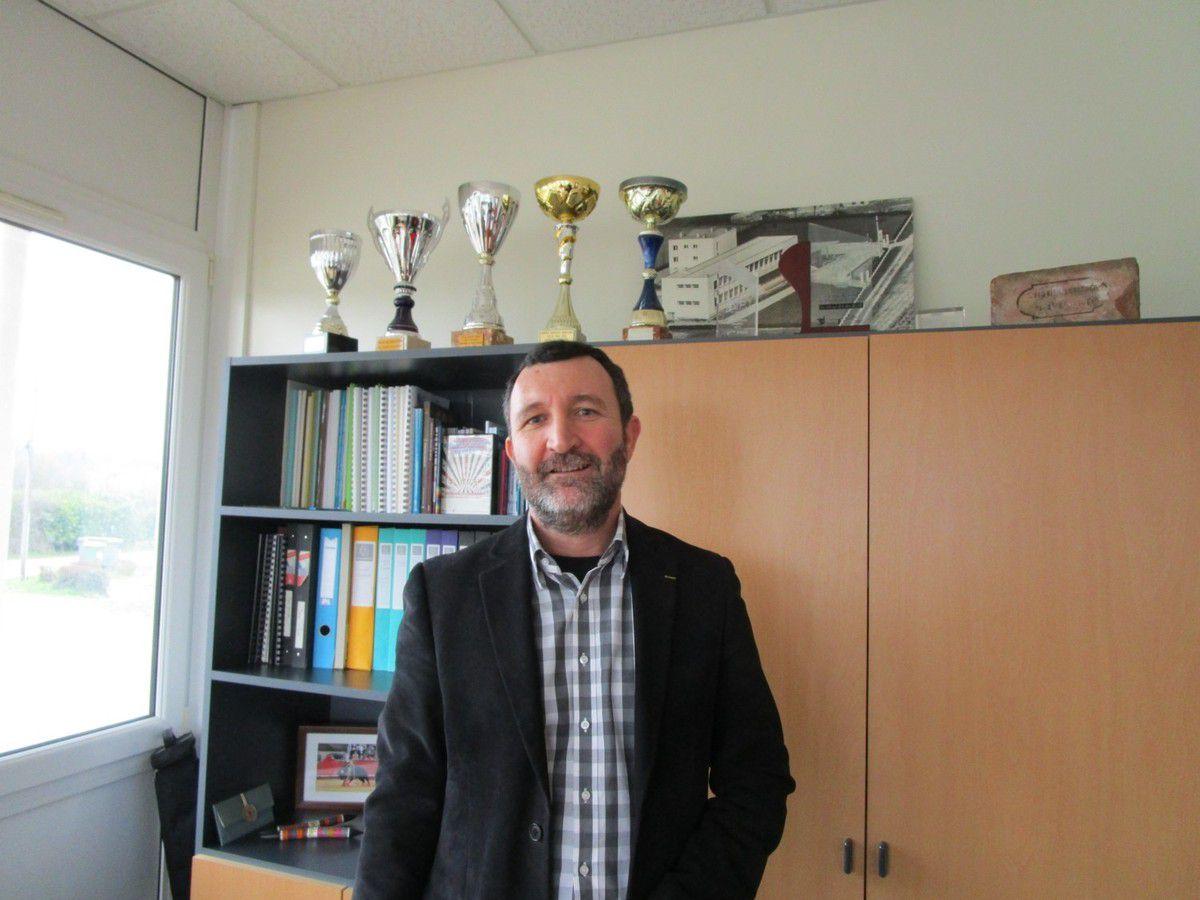 Gilles Strecker, directeur du lycée agricole de Montoire