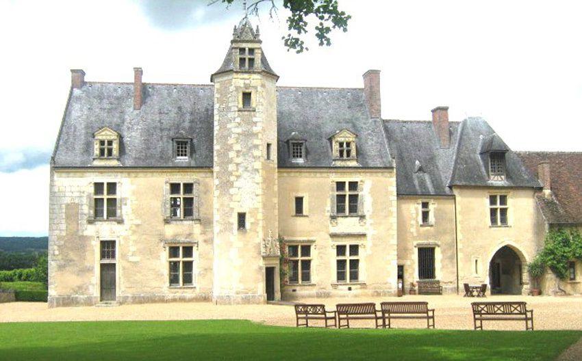 Le manoir de la Possonnière, maison natale de Ronsard à Couture