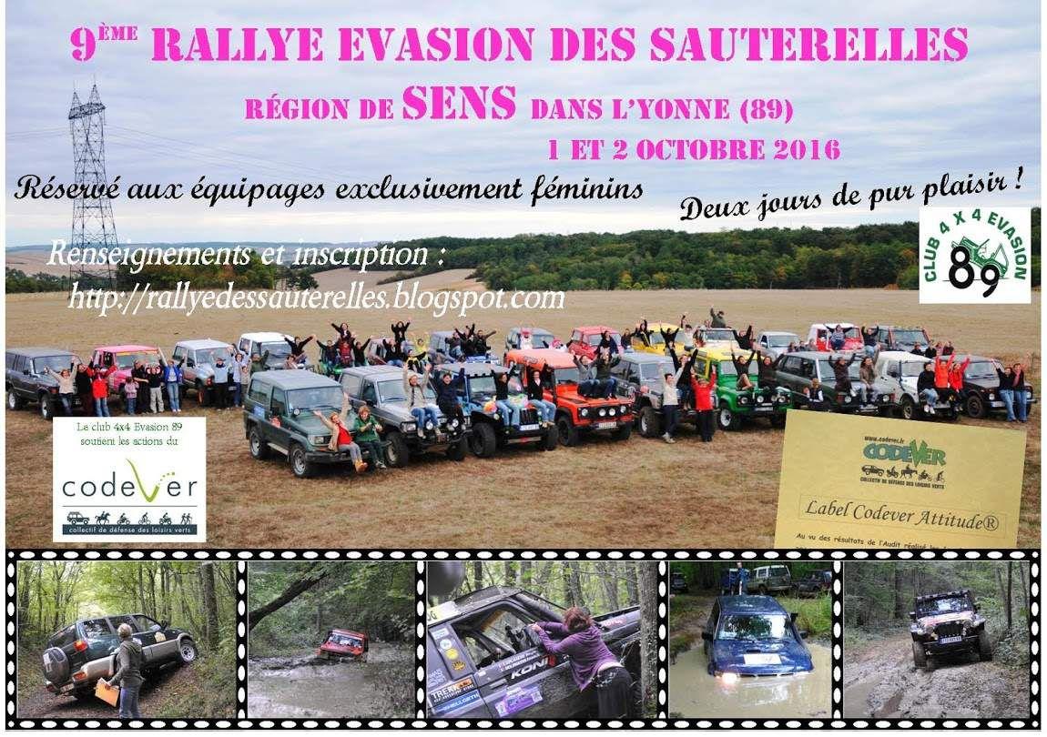 Le Rallye Evasion des sauterelles en 2016