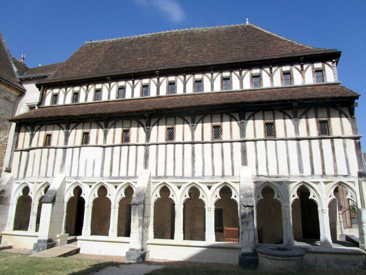 La Maison de l'Emploi à Montoire est installée dans l'ancien cloître des Augustins