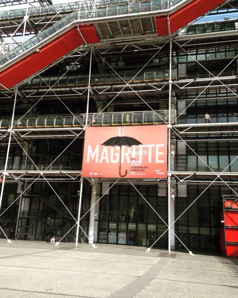 René Magritte : une exposition au Centre Georges Pompidou