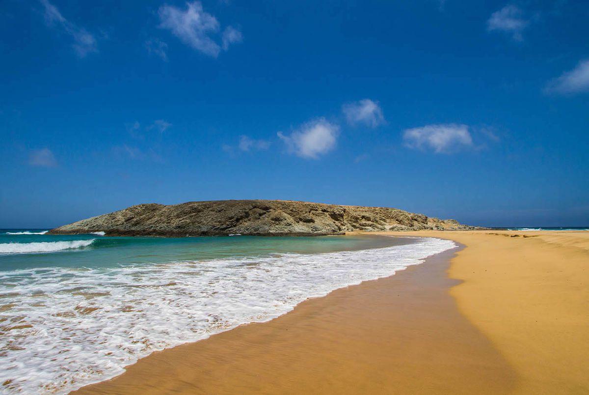 Fuerteventura dans l'archipel des Canaries