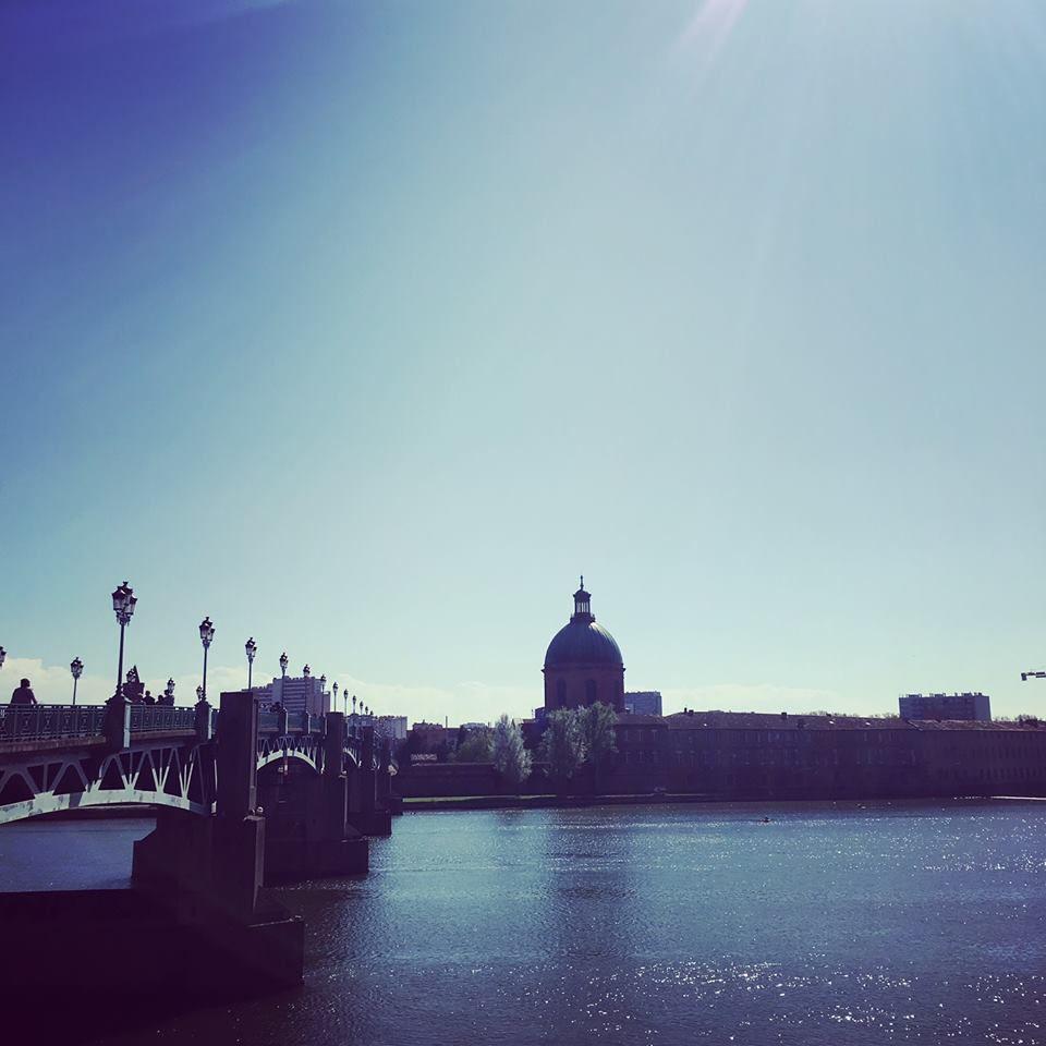 Toulouse et les bords de la Garonne