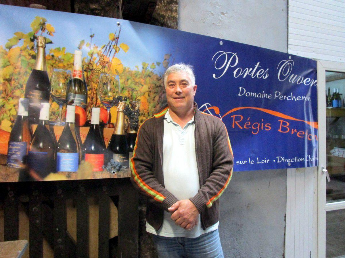 Régis Breton ouvre les portes du Domaine Percheron