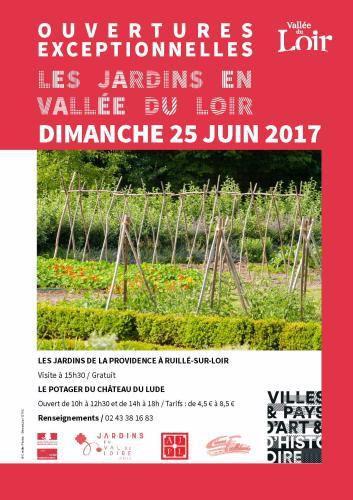 Ouverture le 24 juin du Petit Perray à Vaas &#x3B; le 25 celui de la Providence à Ruillé et le potager du château du Lude