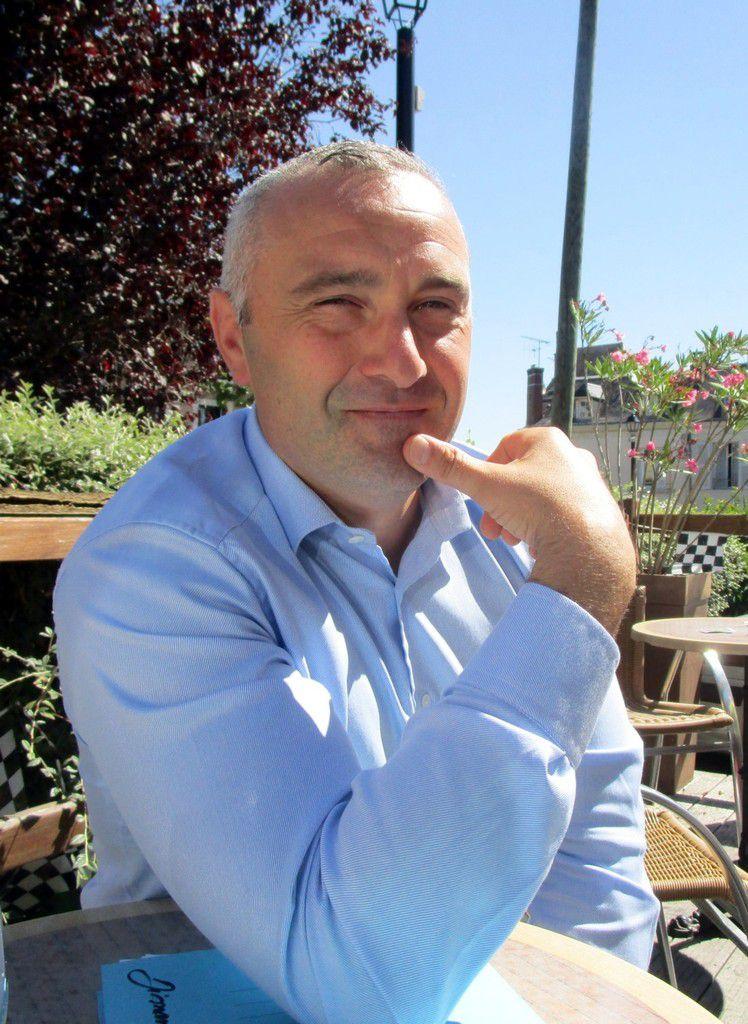 """Tony Ladurée, président de """"Sport, Animation, Val du Loir"""""""