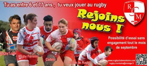 Montoire : Le Rugby Club recrute