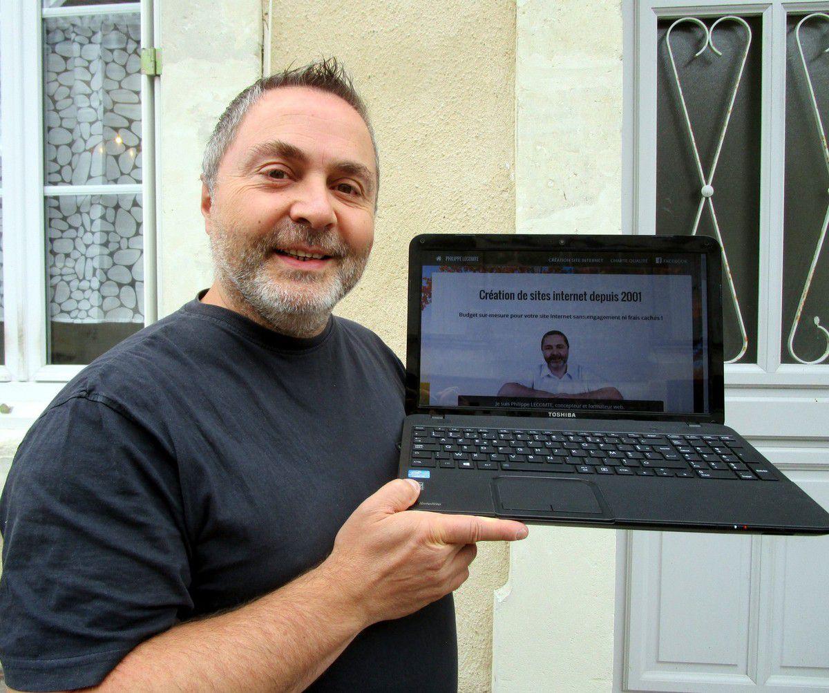 Philippe Lecomte concepteur et formateur web